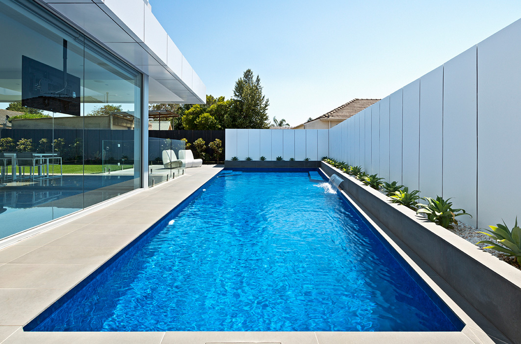 Apex Pools Courtyard Pool construction Wollongong and Shellharbour