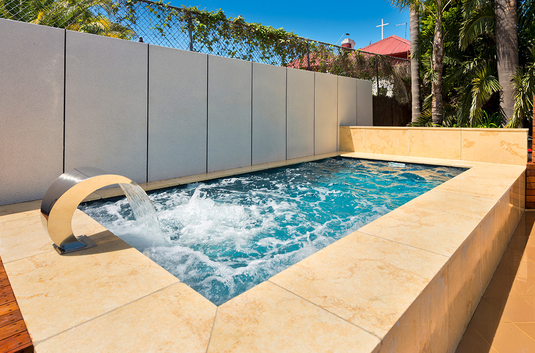 Apex Pools Plunge Pool construction Wollongong and Shellharbour